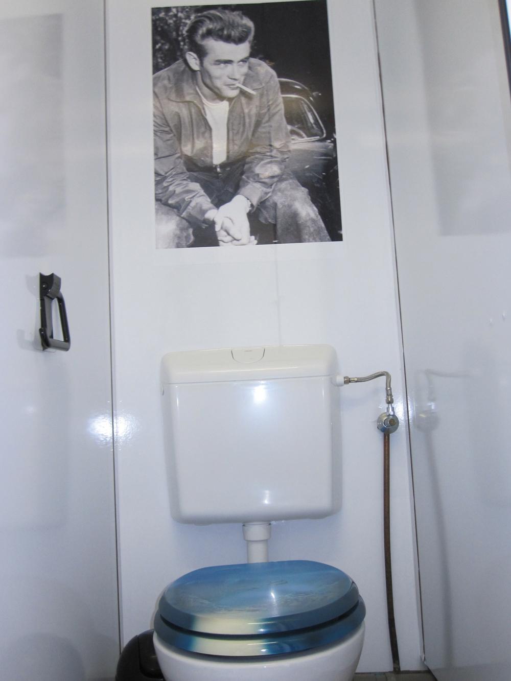 Toilettenwagen Hollywood