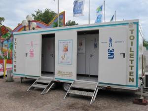 Toilettenwagen Family (familienfreundlich!)
