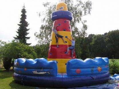 Kletterleuchtturm Hüpfburg