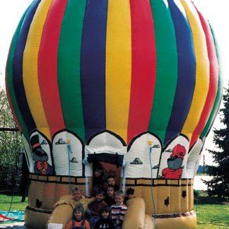 Luballon Hüpfburg, Form wie ein Heißluftballon