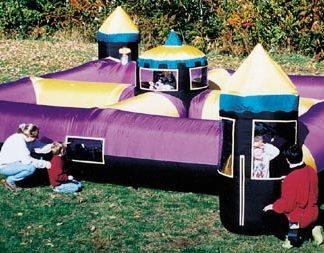 Schloss-Labyrinth für kleine Kinder