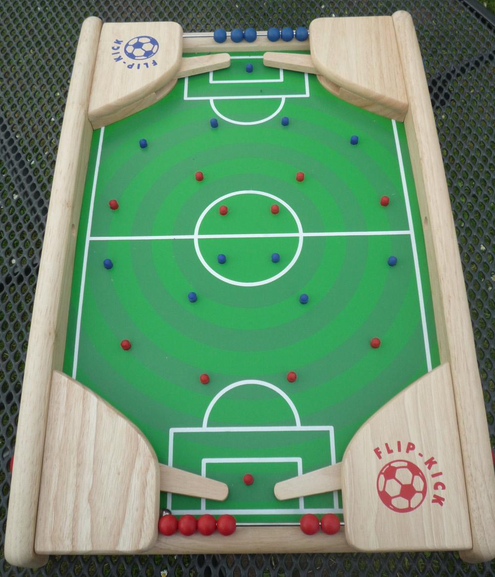 Tischfußball Flip-Kick