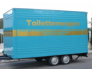 Toilettenwagen Hollywood