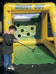 """Torwand """"Shoot Out"""", Variante Golfspiel"""