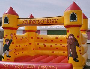 Hüpfburg Zauberschloss